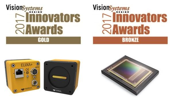 Teledyne e2v wins Gold and Bronze at Vision Systems Design 2017 Innovators Awards