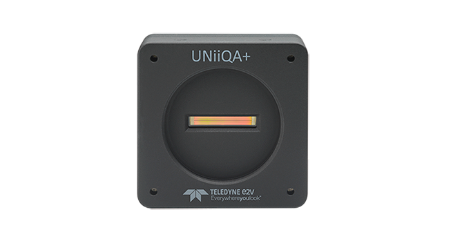 Unleash the potential of your inspection system with e2v's new UNiiQA+ CMOS line scan camera series