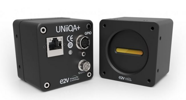 e2v line scan cameras available with a new frame grabber-less NBASE-T™ interface