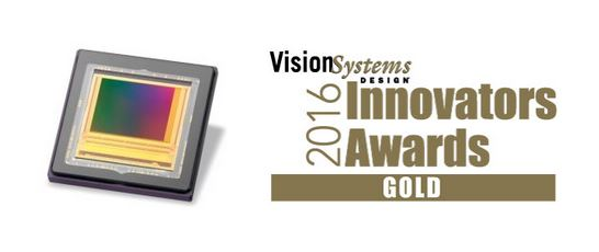 e2v honoured with Gold at Vision Systems Design 2016 Innovators Awards